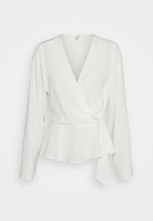 WRAP ME PRETTY BLOUSE - Blouse - white