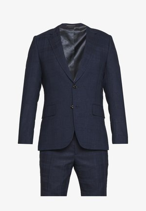 GENTS TAILORED FIT BUTTON SUIT SET - Anzug - dark blue