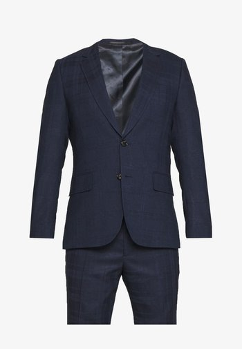 GENTS TAILORED FIT BUTTON SUIT SET - Completo - dark blue