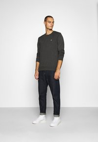 Jack & Jones - JORBASIC CREW NECK 2 PACK - Sweatshirt - dark grey melange - 0