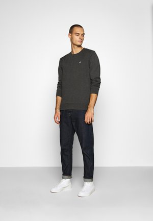 JORBASIC CREW NECK 2 PACK - Sweater - dark grey melange