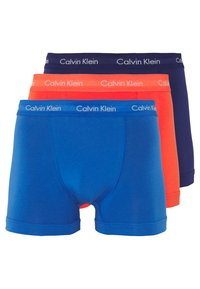 Calvin Klein Underwear - TRUNK 3 PACK - Pants - minnow/horoscope/inferno - 8