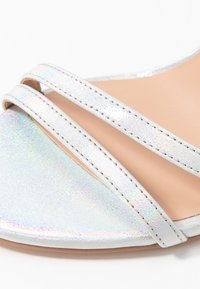 ONLY SHOES - ONLAILA WRAP - Sandali con tacco - silver - 2