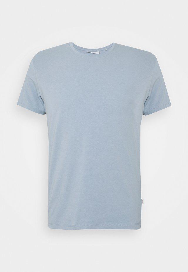 DAVID CREW NECK - T-shirt basic - ashley blue