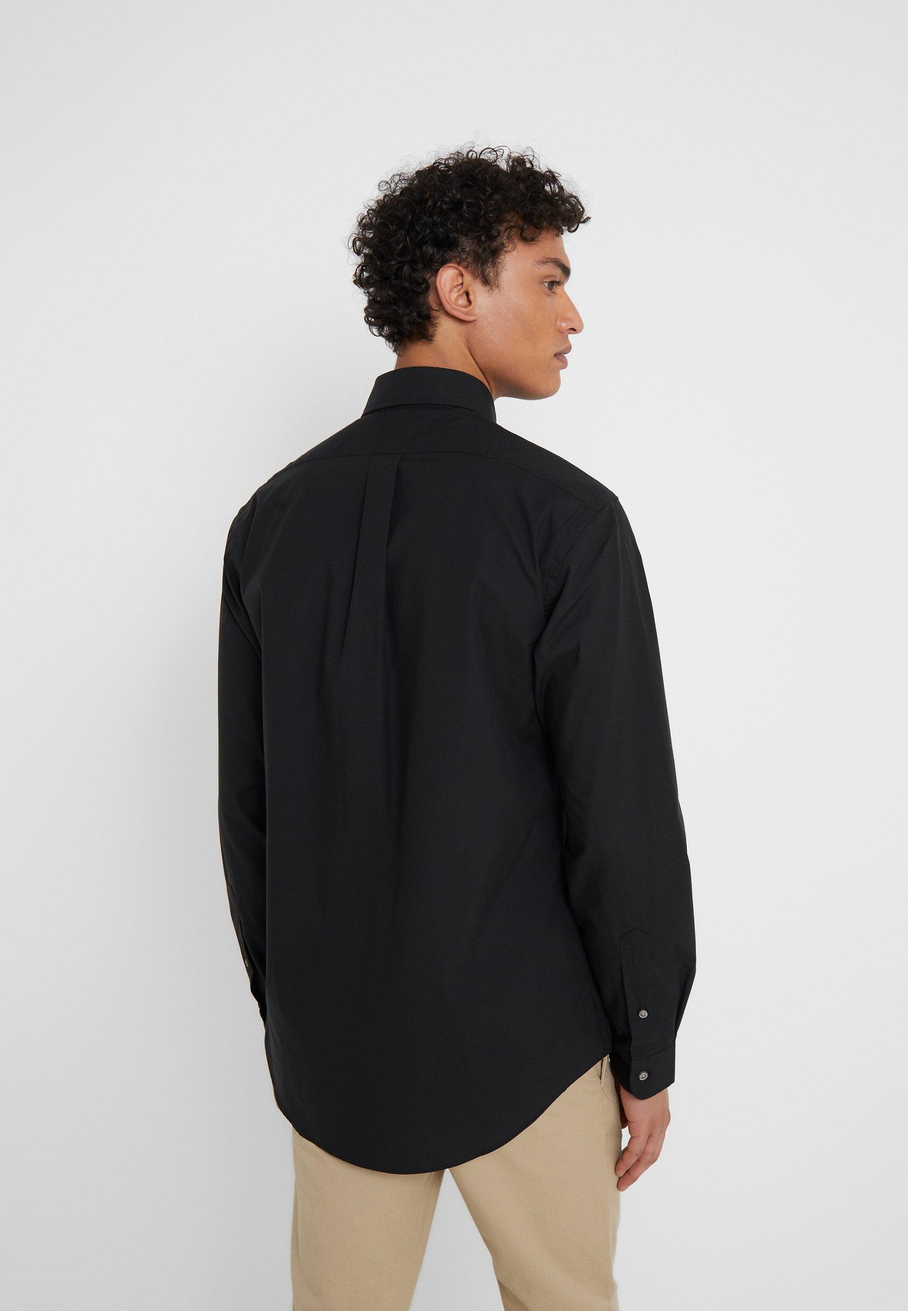 100% authentique Meilleurs prix Polo Ralph Lauren CUSTOM FIT - Chemise - black - ZALANDO.FR e86lZ