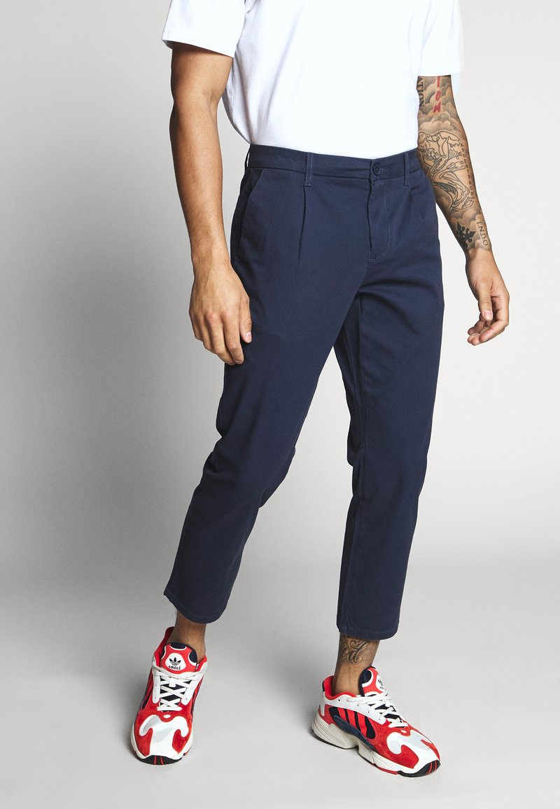 Only & Sons - ONSCAM CROPPED - Chinot - dress blues