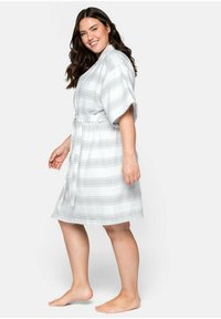 Sheego - Dressing gown - gestreift - 3