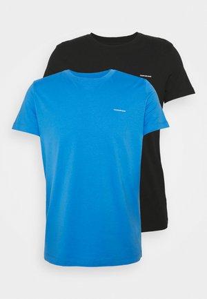 SLIM 2 PACK - T-shirt - bas - mesmerizing blue/ black
