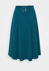 WAL G. - EMERSON MIDI SKIRT - A-line skirt - dark teal blue - 4