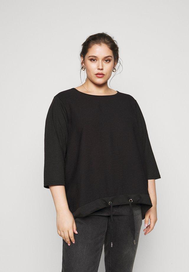 CARLUCILLE - T-shirt à manches longues - black