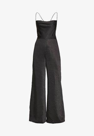 DRIFTER COWL - Jumpsuit - black