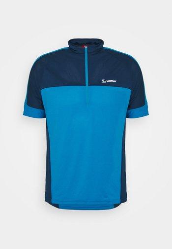 BIKE PACE - T-shirt imprimé - blue lake