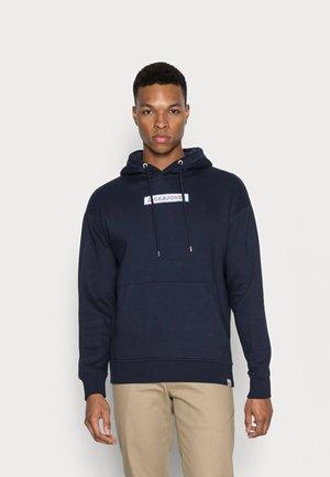 JORNEWPORT SMALLSCALE HOOD - Sweatshirt - navy blazer