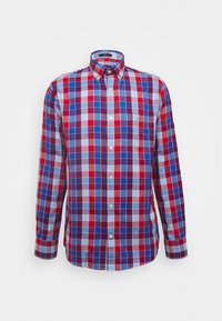 WINDBLOWN OXFORD CHECK REG - Košile - fiery red