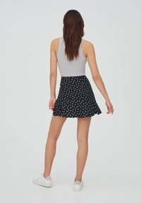 PULL&BEAR - A-line skirt - black - 2