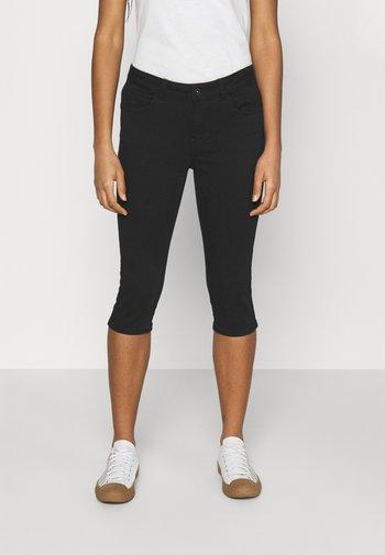 VMHONNISEVEN PUSH UP KNICKERS - Denim shorts - black
