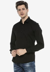 Cipo & Baxx - HECTOR - Formal shirt - schwarz - 5