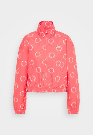 TRACK TOP - Korte jassen - magic pink/white