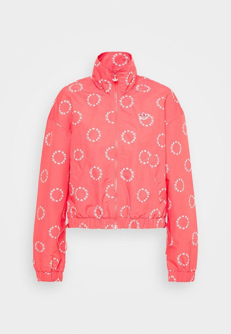 adidas Originals - TRACK TOP - Summer jacket - magic pink/white
