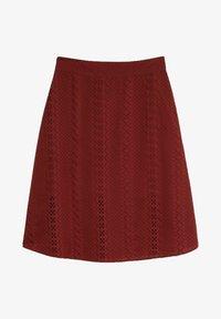 C&A - A-line skirt - dark red - 3