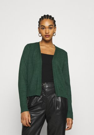 VIRIL SHORT - Cardigan - pine grove/melange