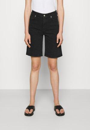 SACHA - Denim shorts - black denim