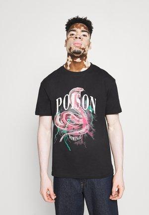SNAKE TEE - Print T-shirt - black