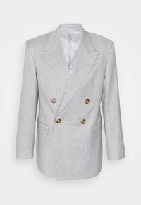 BOXY SUIT - Suit jacket - grey