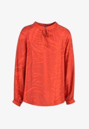Blouse - orange print