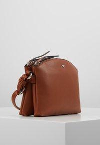 TOM TAILOR - ROMA - Across body bag - cognac - 3