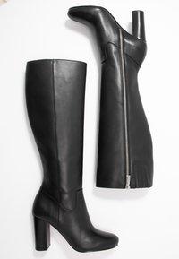 MICHAEL Michael Kors - LOTTIE BOOT - High heeled boots - black - 3