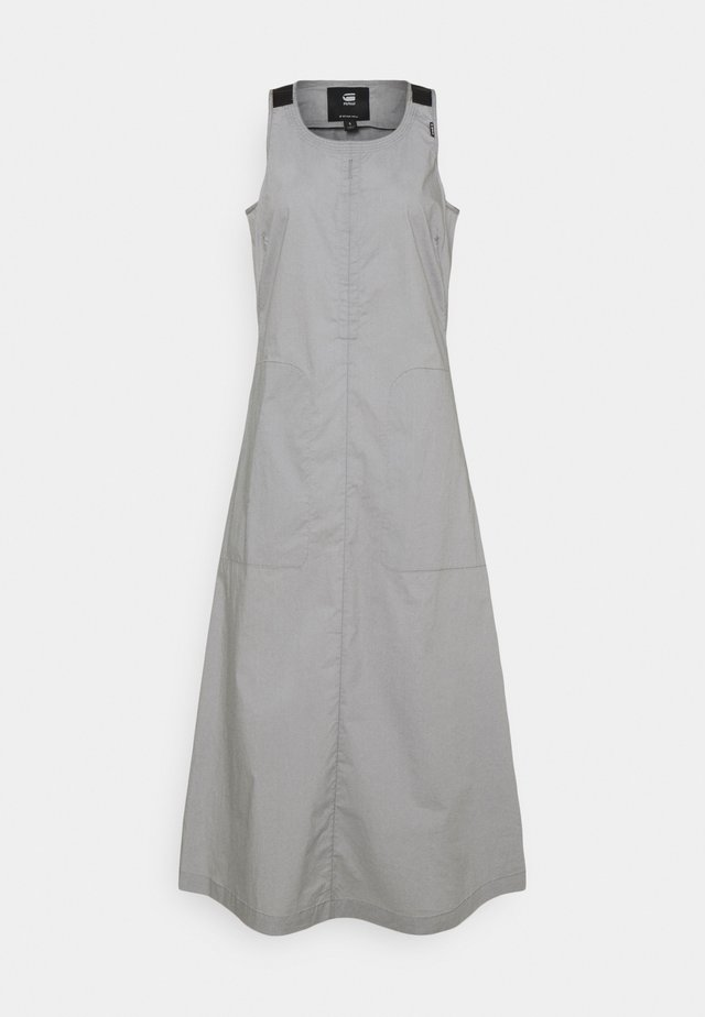 UTILITY DRESS - Korte jurk - charcoal