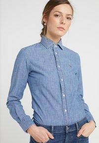 Polo Ralph Lauren - CHAMBRAY  - Button-down blouse - cobalt - 3