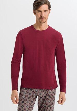 LONG - Long sleeved top - ruby