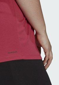 adidas Performance - W TE TEE PB - T-shirts - pink - 5