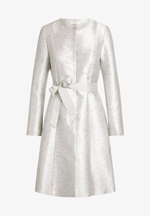 Płaszcz wełniany /Płaszcz klasyczny - creme-schwarz