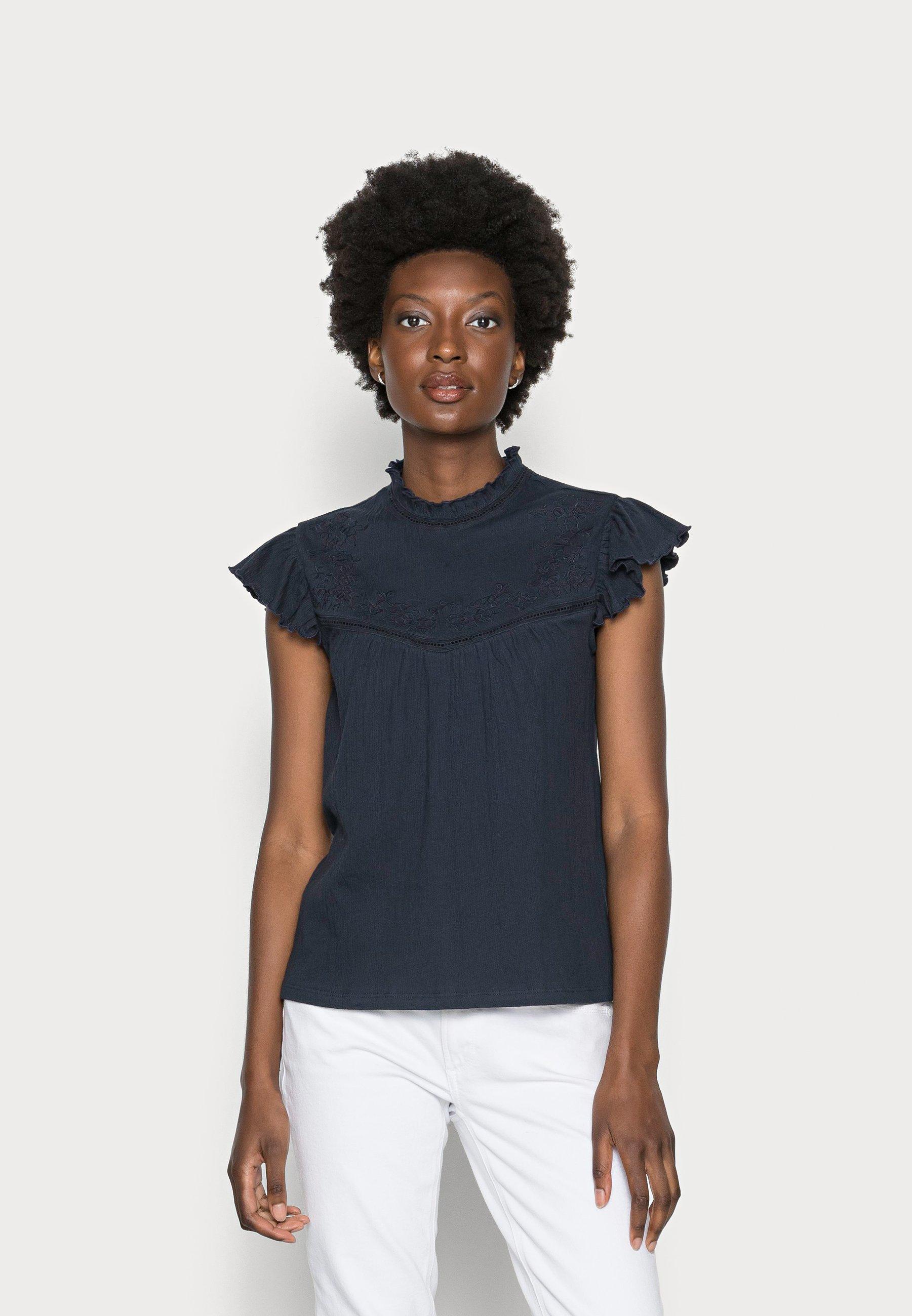 Femme CREPE - T-shirt basique