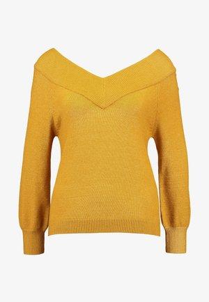 JDYSHANON - Sweter - harvest gold/melange