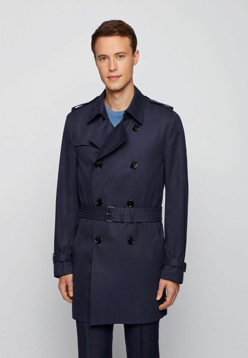 BOSS - DAN - Trenchcoat - dark blue