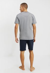 TOM TAILOR - SHORTY V-NECK - Pyžamo - dark blue - 2