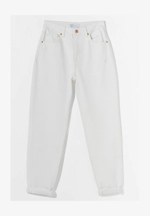 MOM FIT JEANS - Relaxed fit jeans - white