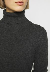pure cashmere - TURTLENECK - Svetr - graphite - 5