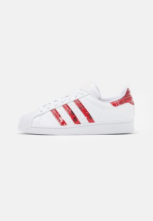 SUPERSTAR  - Sneakers laag - footwear white/clear white/red