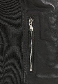 Freaky Nation - COOL BIKER - Leather jacket - black - 2