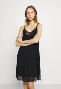 Hanro - WANDA DRESS - Nightie - black - 0