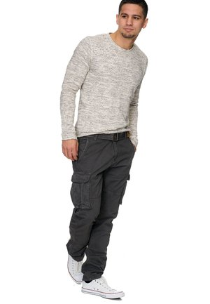 WILLIAM - Cargo trousers - grey
