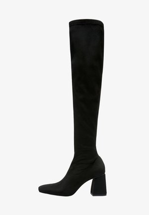 AUS STRETCHMATERIAL - High heeled boots - black