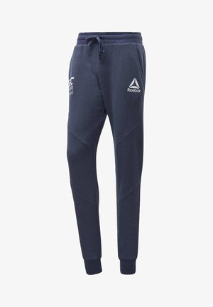 UFC FG FIGHT WEEK JOGGERS - Tracksuit bottoms - blue