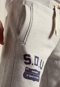 Superdry - Tracksuit bottoms - pumice stone marl - 2