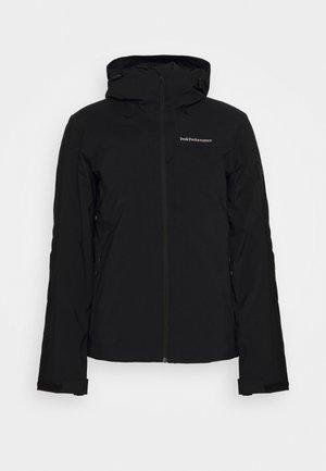 MAROON JACKET - Ski jacket - black